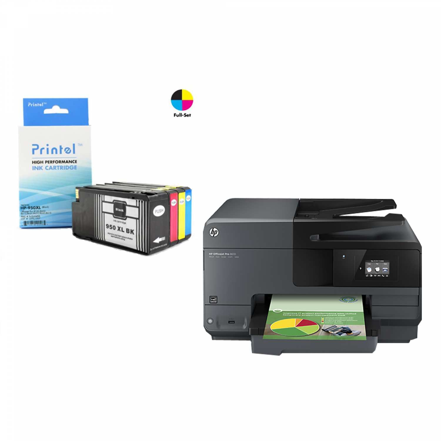 HP 950XL 951XL Ink Cartridge Troubleshooting Instructions