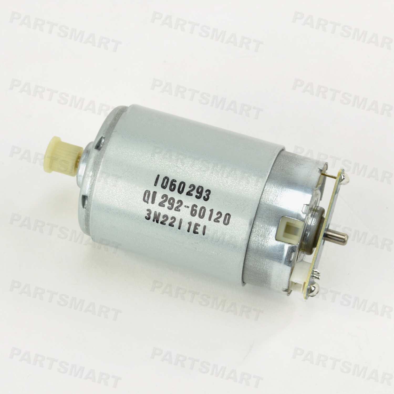HP Designjet 10 Designjet 100 Scan-Axis Motor - Q1292-60207 | Price: $55.00  | Plotter Parts | Partsmart