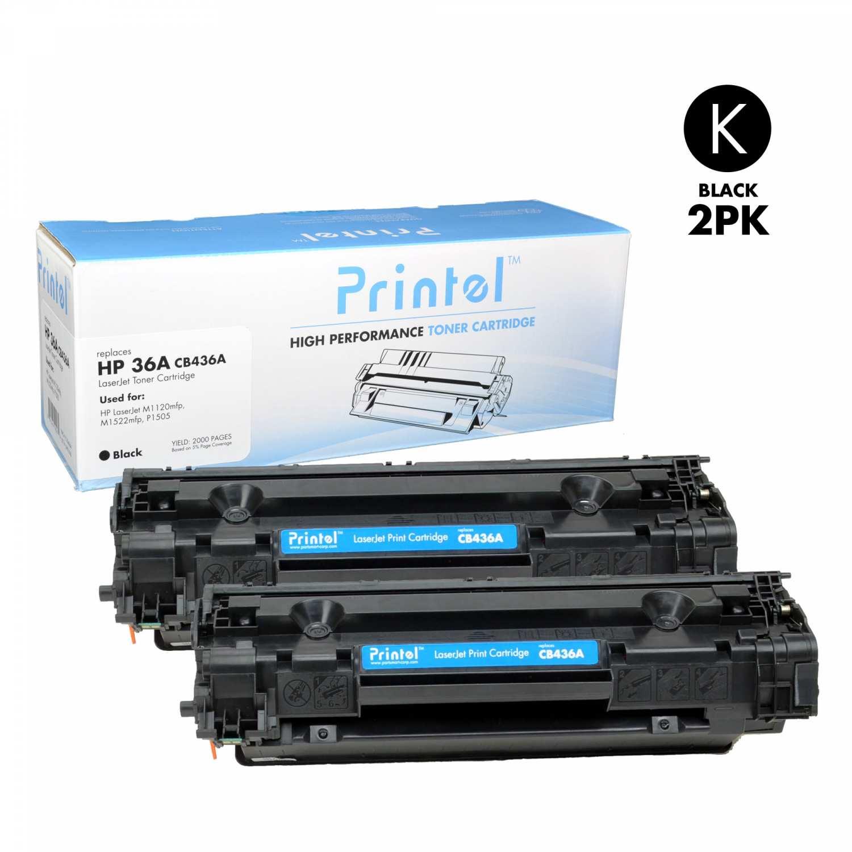 HP 36A (CB436A) Black (2 Pack)