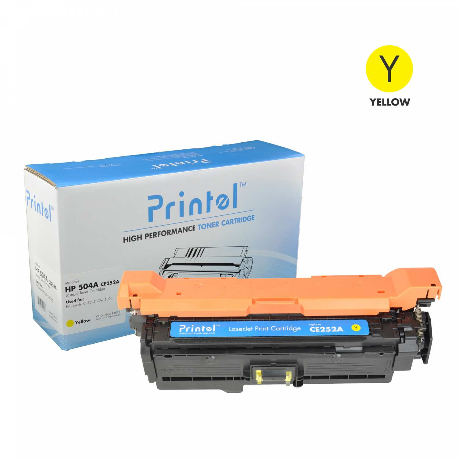 HP 504A (CE252A) Yellow