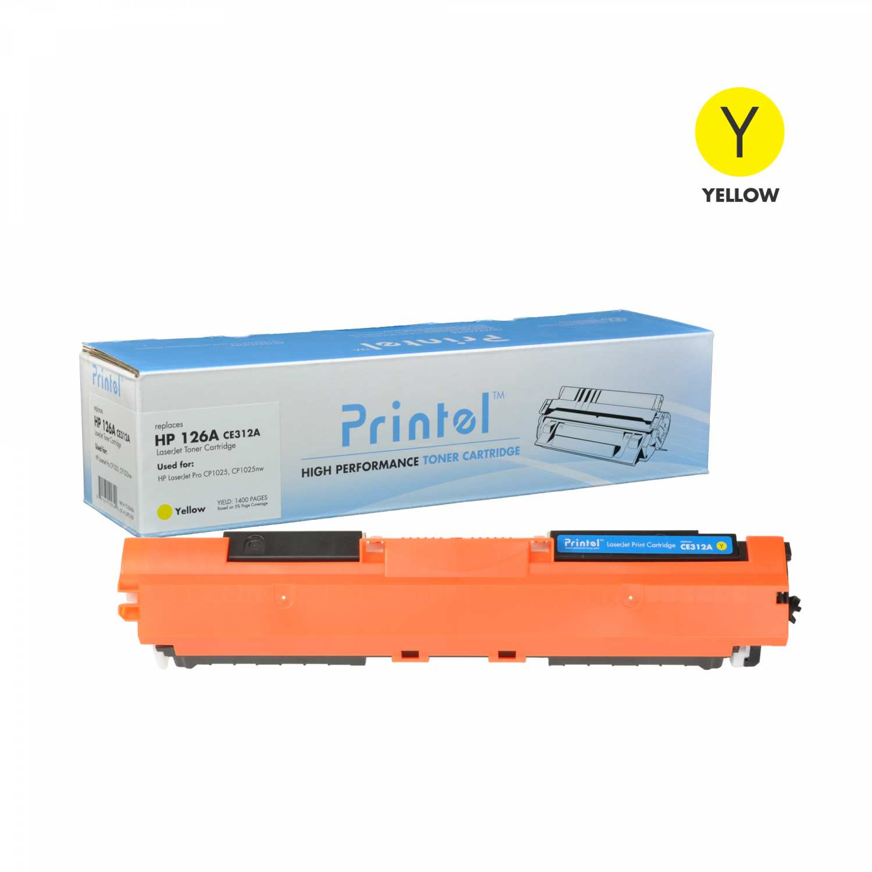 HP 126A (CE312A) Toner Cartridge Yellow