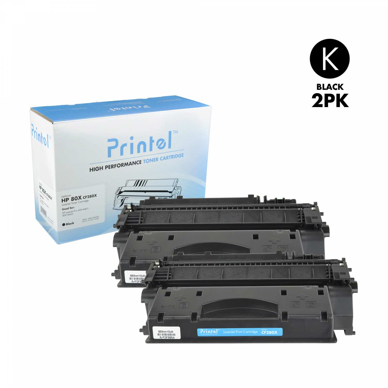 HP 80X (CF280X) Black(2 Pack)