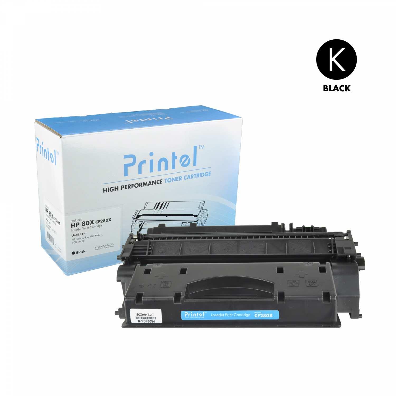HP 80X (CF280X) Black