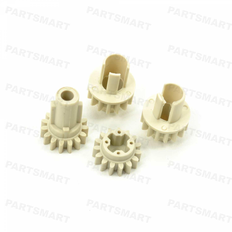 KIT-3600-GR15T Kit for 15T Gears, includes 1x GR-3600-15T, 1x RC1-6266 and 2x RC1-6267 for HP Color LaserJet 3600, Color LaserJet 3800