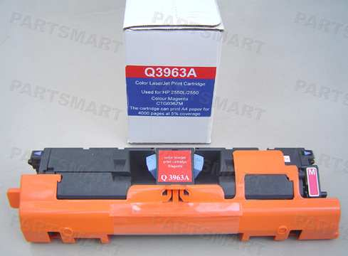 Q3963A  Toner Cartridge, Yellow - HP2550/2820/2840