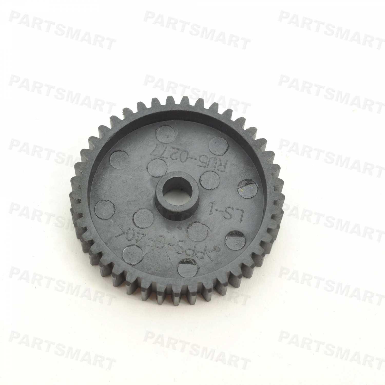RU5-0277-000 Gear (41T), Black, Swing Plate Ass'y for HP LaserJet 4200, LaserJet 4300